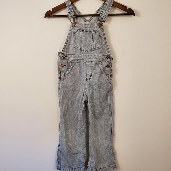 OshKosh B'gosh Other - Vintage oshkosh Bagosh blue white striped overalls